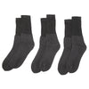 Men's Sports Cat Socks Pack Of 3 - Black