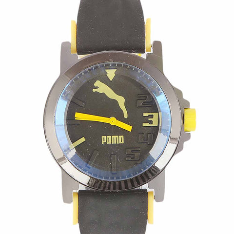 Kids Analog Watch - Yellow
