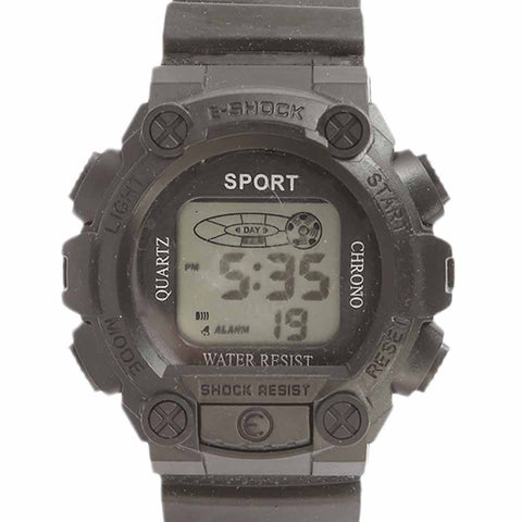 Kids Digital Watch - Black