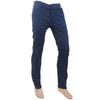 Men's Fancy Cotton Chino Pant - Steel Blue