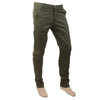 Men's Fancy Cotton Chino Pant - Olive Green