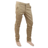 Men's Fancy Cotton Chino Pant - Khaki