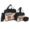 NewBorn Baby Bag 3 Pcs - Black
