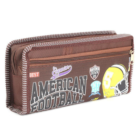 Pencil Pouch - Brown - test-store-for-chase-value