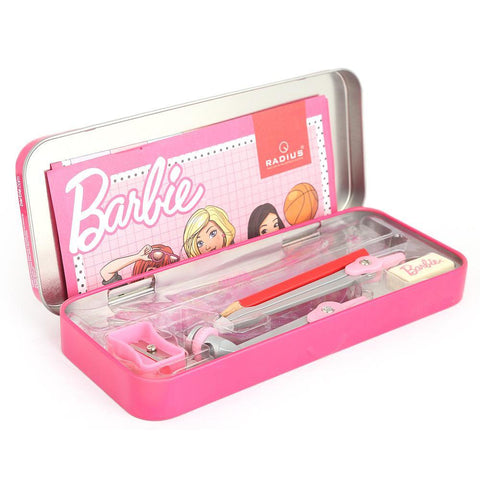 Barbie Geometry Box Metal - Pink - test-store-for-chase-value