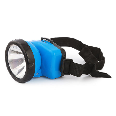 LED Rechargeable Head Light (DP-744B) - Blue