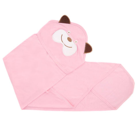 Newborn Baby Wrapping Sheet - Pink