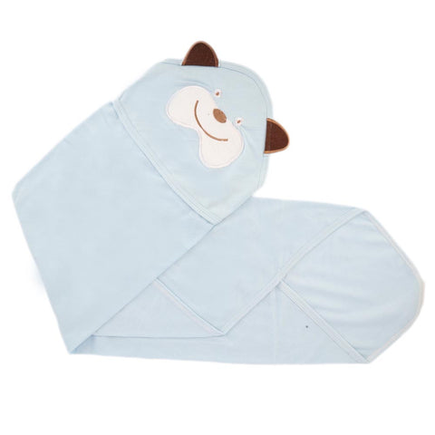 Newborn Baby Wrapping Sheet - Blue