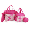NewBorn Baby Bag 3 Pcs - Dark Pink