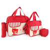NewBorn Baby Bag 3 Pcs - Red
