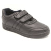 Boys Steps School Shoes 0022 - Black