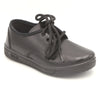 Boys Laces School Shoes 0027 - Black