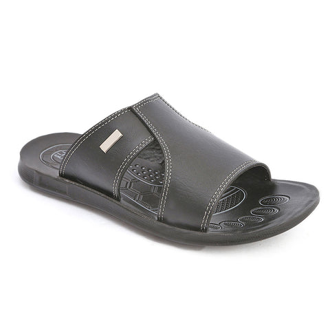 Men's Casual Slippers (604) - Black