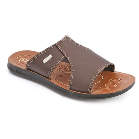Men's Casual Slippers (604) - Brown