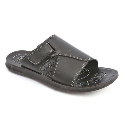 Men's Casual Slippers (603) - Black