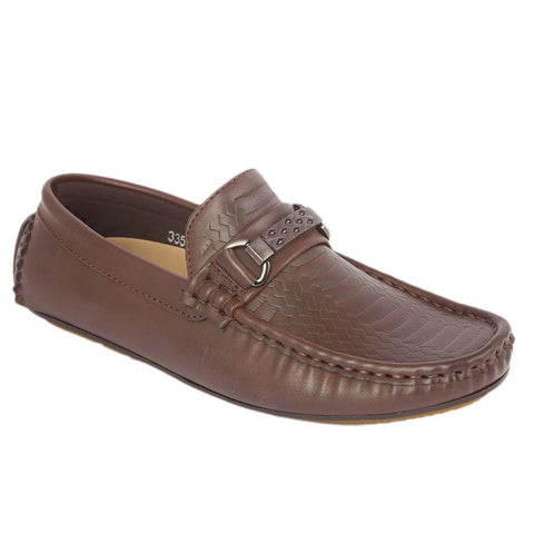 Boys Loafers 3357C - Coffee