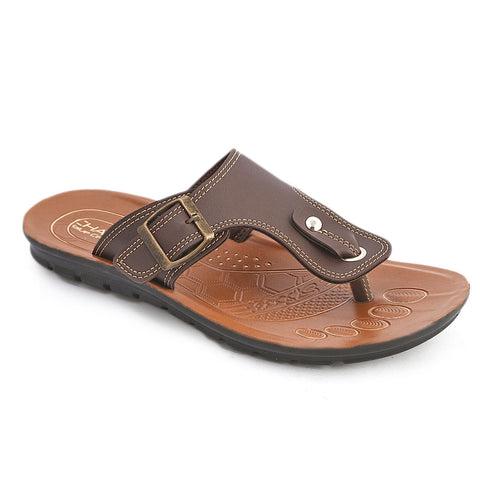 Men's Casual Slippers (602) - Brown