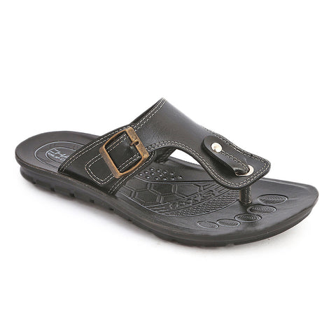 Men's Casual Slippers (602) - Black