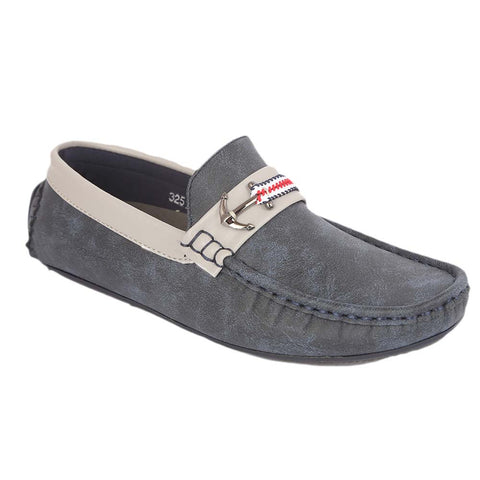 Boys Loafers 3251C - Navy Blue