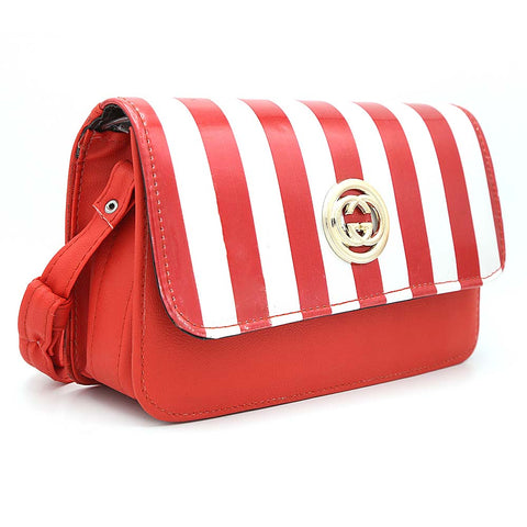 Women's Shoulder Bag 9136 - Red
