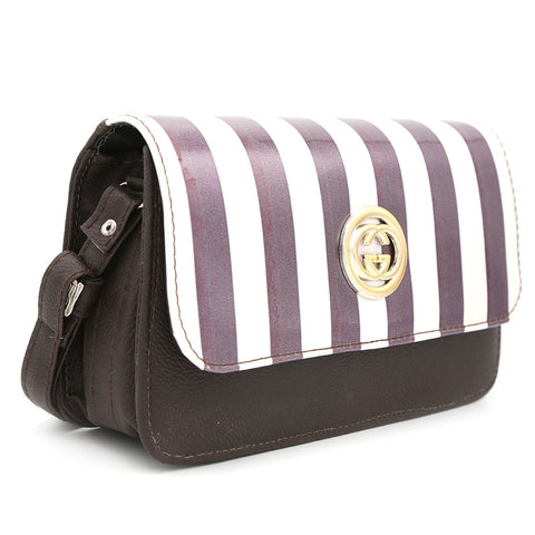 Women's Shoulder Bag 9136 - Coffee