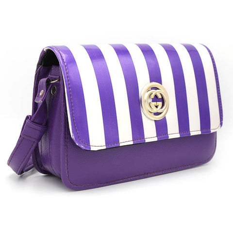 Women's Shoulder Bag 9136 - Purple
