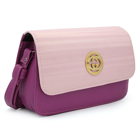 Women's Shoulder Bag 9137 - Purple