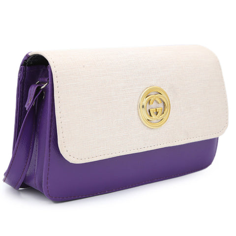 Women's Shoulder Bag 9137 - Dark Purple