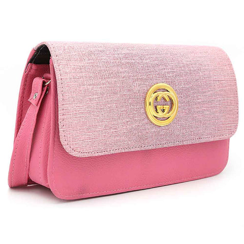 Women's Shoulder Bag 9137 - Pink