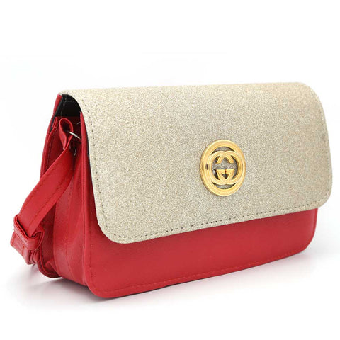 Women's Shoulder Bag 9137 - Red