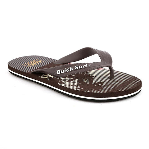 Quick Surf Men's Slippers QUI-1387 - Brown