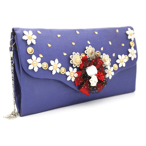 Women's Clutch 9142 - Royal Blue