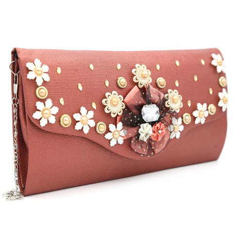 Women's Clutch 9142 - Peach