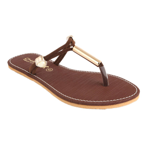 Women's Slipper (SA-013) - Brown - test-store-for-chase-value