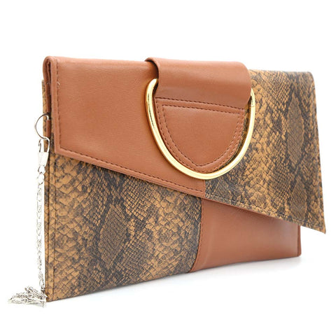 Women's Clutch K-2089 - Brown