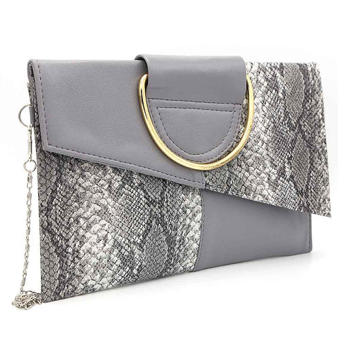 Women's Clutch K-2089 - Grey