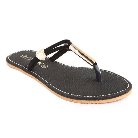 Women's Slipper (SA-013) - Black - test-store-for-chase-value