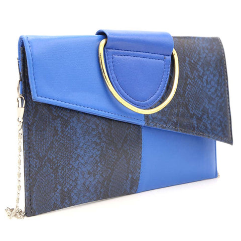 Women's Clutch K-2089 - Royal Blue