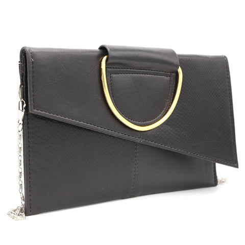 Women's Clutch K-2089 - Black