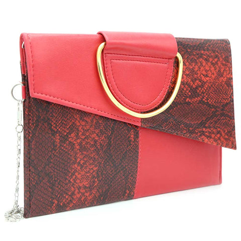 Women's Clutch K-2089 - Red