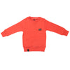 Boys Full Sleeves Rib Jumper 123 - Orange