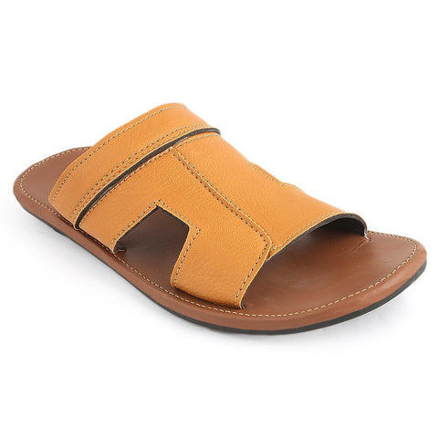 Men's Slippers (022) - Mustard - test-store-for-chase-value