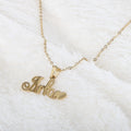 Name Locket Chain - Golden - (Arfa)