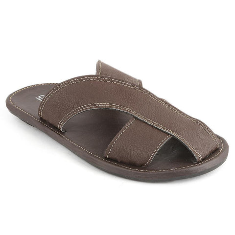Men's Slippers (SK-011) - Brown - test-store-for-chase-value