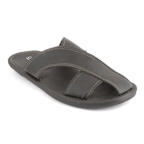 Men's Slippers (SK-011) - Black - test-store-for-chase-value