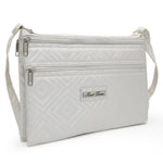 Women's Shoulder Bag 2324 - Silver