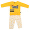 Boys Full Sleeves Suit - Yellow