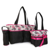 NewBorn Baby Bag 2 Pcs - Black Pink