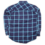 Boys Full Sleeves Casual Shirt - Blue