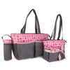 NewBorn Baby Bag 2 Pcs - Grey Pink